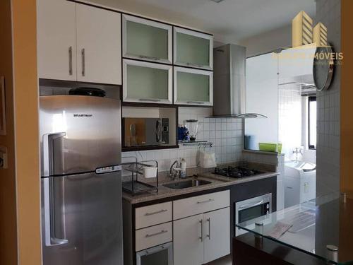 Apartamento À Venda, 77 M² Por R$ 480.000,00 - Jardim Aquarius - São José Dos Campos/sp - Ap1898