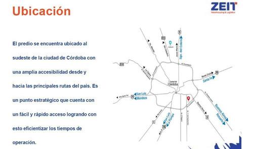 Alquiler Galpón Zona Sudeste De La Ciudad De Córdoba