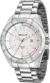 Relógio Seculus Masculino 28808g0svna1 Prata
