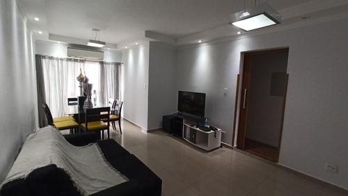 Apartamento Com 2 Dormitórios À Venda, 88 M² Por R$ 390.000,00 - Marapé - Santos/sp - Ap5522