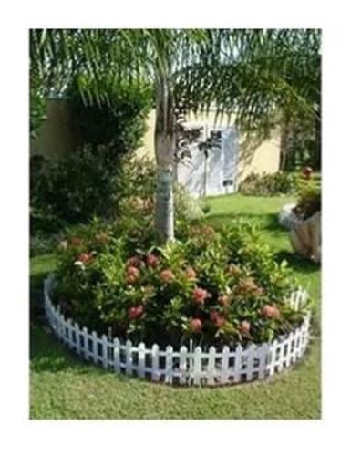 33 Cerca Plastica P Jardim Decorativa Ingles 40,5x19
