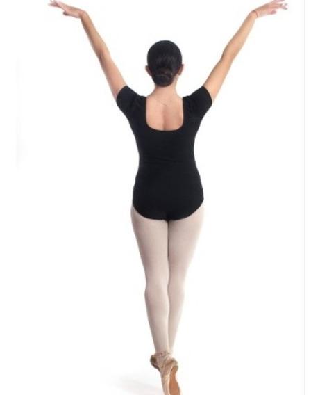 Combo X 3 Mallas De Ballet Manga Corta Colores Varios