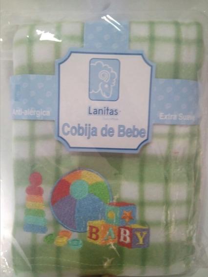 Cobijas De Bebe Marca Lanita 97x72 Cm Mod Surtidos