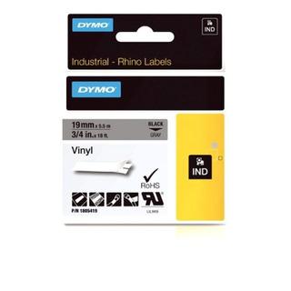 Dymo Cinta Rhino Adhesive Vinyl Label, 3