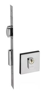 Fechadura Porta Pivotante Rolete Quad 453 40r Pado Cromada