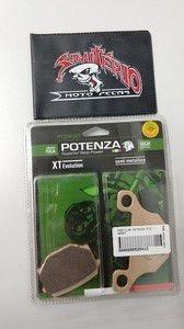 Pastilha Potenza Freio Tgb Scooter R 50 X 06-09 F