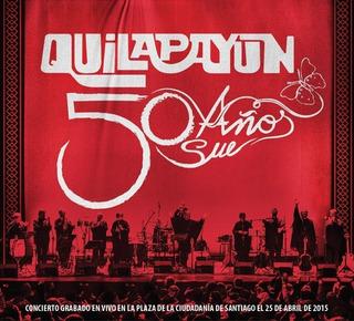 Quilapayún 50 Años Cd Nuevo Musicovinyl