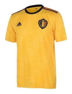 Jersey Original adidas Selección Bélgica Visita Mundial 2018