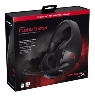 Auricular Gamer Kingston Hyperx Cloud Stinger Ps4 Tranza