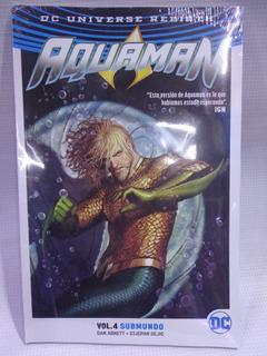 Aquaman Rebirth Vol.4 (vol.25 Al 30) Televisa Tpb 2019