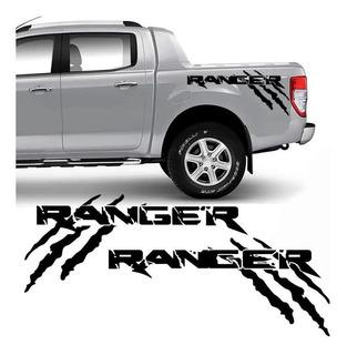 Kit Adesivo Ford Ranger Raptor Faixa Lateral