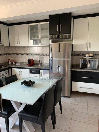 Apartamento Com 2 Dormitórios (1 Suíte Com Closet), 86 M² - Venda Por R$ 375.000 Ou Aluguel Por R$ 1.885/mês - Jardim Guapituba - Mauá/sp - Ap1250