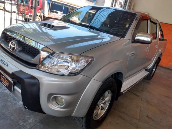 Toyota Hilux 4x4 Turbo Diesel 2009 Prata