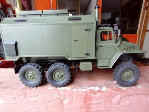 Camion Crawler Nuevo Wpl B36 6wd Off-road Rc Escala Detallad