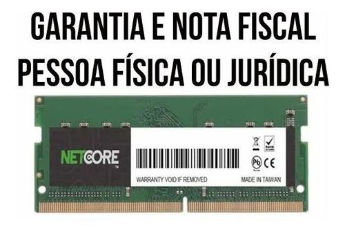 Imagem 1 de 2 de Memoria Ram Notebook Macmemory 16gb 2666mhz Netcore Com Nf-e