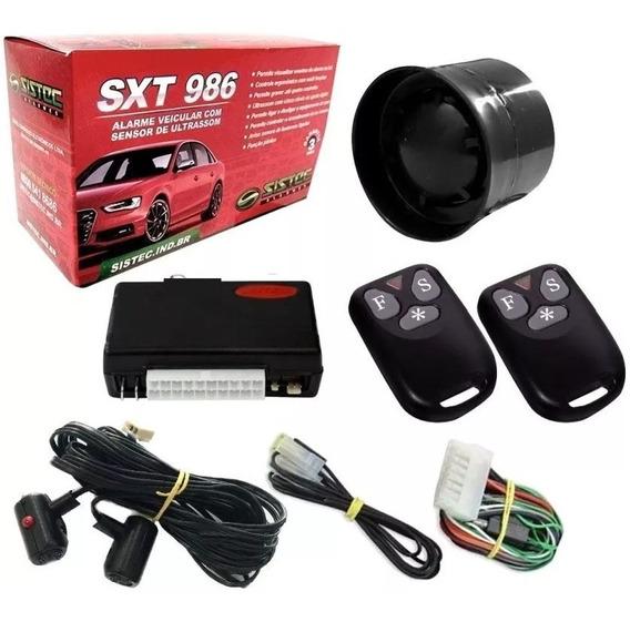 Melhor Alarme Automotivo Universal Sistec C/ 2 Controles