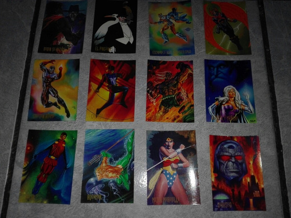 Pepsi Cards De Dc Comics Coleccion De 1995