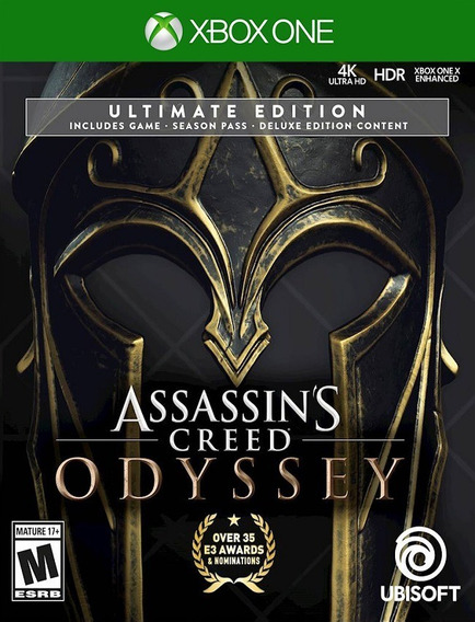 Assassins Creed Odyssey Ultimate - Xbox One (25 Dígitos)