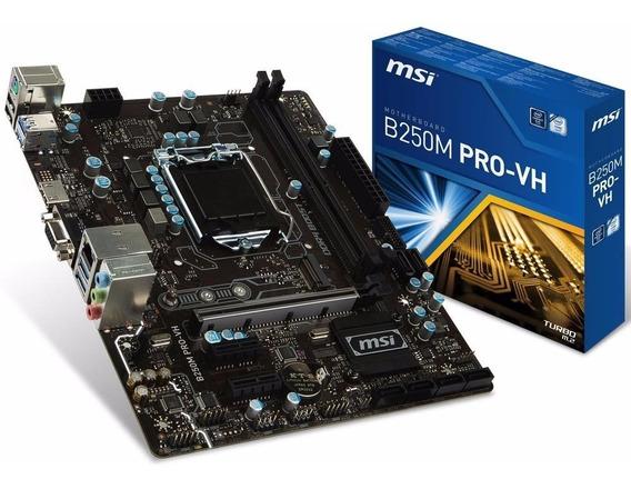 Computador 7ª Geração Placa Mãe Msi Processador Intelceleron