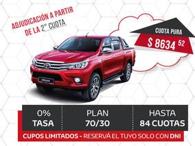 Plan Toyota Hilux 4x4 100% - Villa Tesei