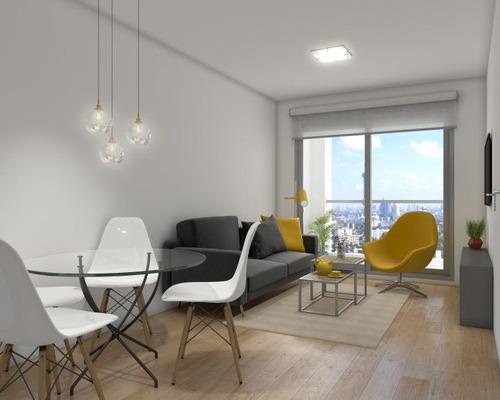 Venta Apartamento Monoambiente En Pocitos Brisa Marina I I