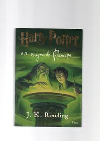 Livro Harry Potter E O Enigma Do Príncipe Seminovo