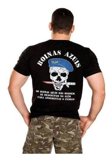 Camiseta Boinas Azuis Força Aérea Brasileira Fab