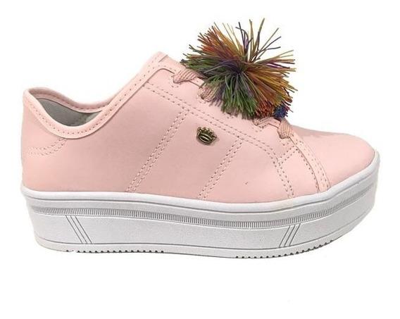 Tênis Infantil Feminino Pink Cats V0429