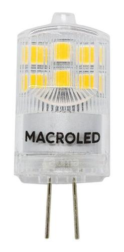 Lampara Led Bipin G4 12v 2w=20w Macroled Luz Fría/cálida