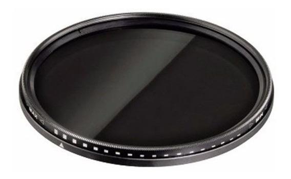 Filtro Nd Variável 55mm Nikon D7200 D5300 D5500 D5600 D7200