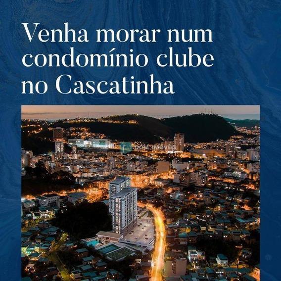 Apartamento Com 2 Dormitórios À Venda, 55 M² Por R$ 245.000 - Cascatinha - Juiz De Fora/mg - Ap1021