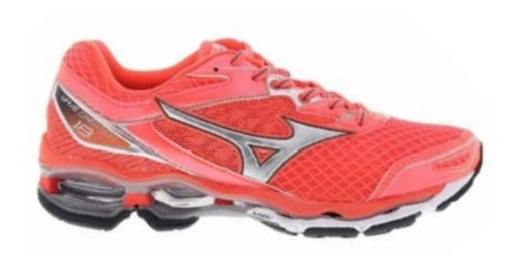 Tênis Mizuno Wave Creation 18 Esportivo Rosa 4136571-1151