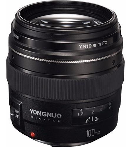 Lente Yongnuo 100mm F/2 - Canon Garantia Sem Juros