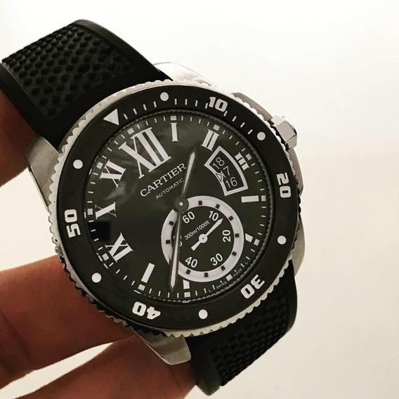 Cartier Calibre Diver 42mm Impecável Completo