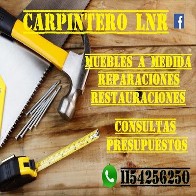 Carpintero Reparacion Muebles - Servicios en Mercado Libre ...