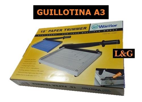 Imagen 1 de 4 de Guillotina Ale - Warrior A4 Y A3 Stock Disponible