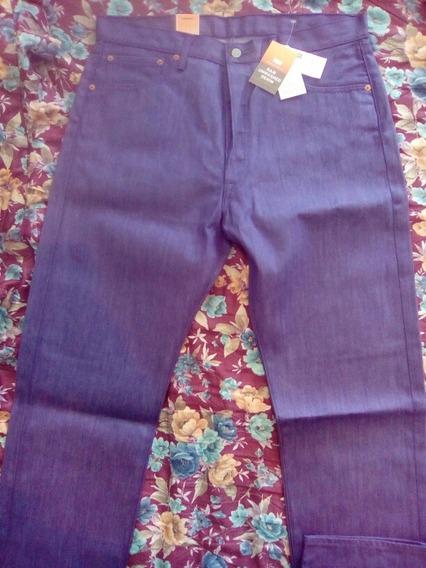 Pantalon Levis 501 Orijinal Straight Leg Button Fly