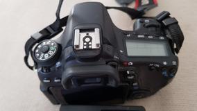 Câmera Canon 70d Corpo - 22.070 Cliques - 12x Sem Juros
