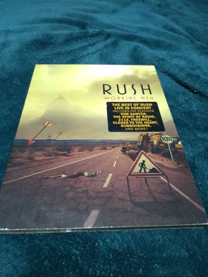 Dvd Rush Working Man Importado