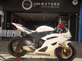 Yamaha R6r Blanca