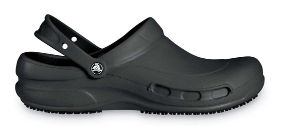 Zapato Doctores, Chefs, Dentistas, Crocs Bistro Negro Unisex