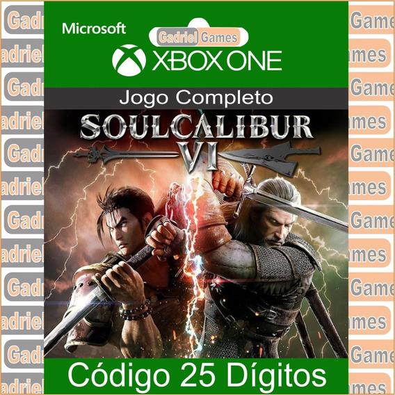 Soulcalibur 6 Xbox One Código 25 Dígitos Oficial