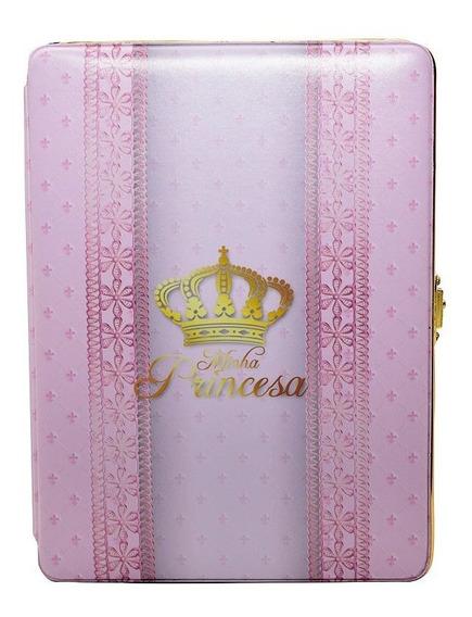 Álbum Fotográfico Luxo Minha Princesa P/ 100 Fotos 15x21