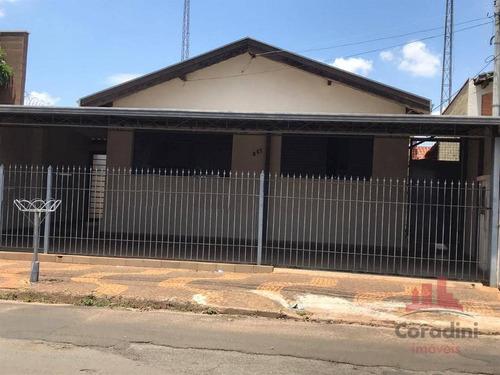 Casa Com 4 Dormitórios À Venda, 9316 M² Por R$ 400.000,00 - Jardim São Paulo - Americana/sp - Ca2717