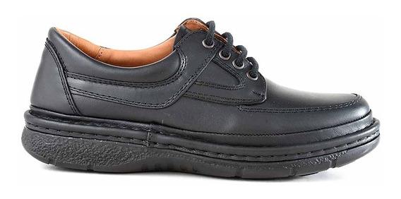 Náutico Hombre Zapato Confort Cuero Briganti Goma Hcna01289