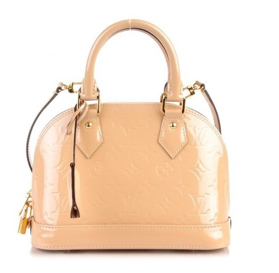 Alma Bb Vernis Couro Louis Vuitton Premium Top C/ Código