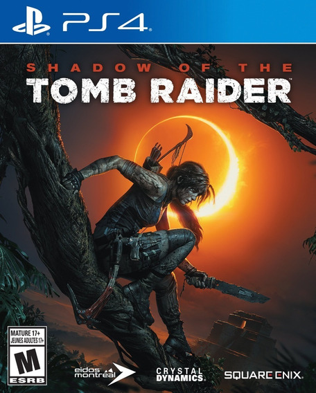 Jogo Shadow Of The Tomb Raider - Ps4 - Novo - Mídia Física