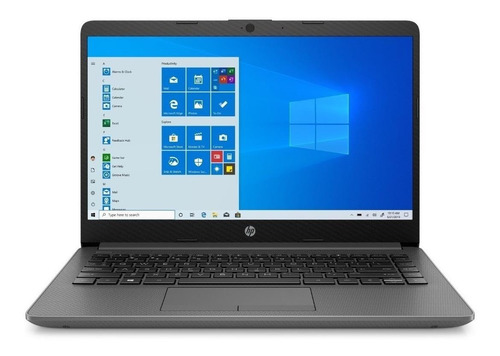 "Imagen 1 de 4 de Laptop HP 14-DK1014LA gris pizarra 14"", AMD Athlon Silver 3050U  8GB de RAM 1TB HDD, AMD Radeon Graphics 1366x768px Windows 10 Home"