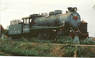 Locomotiva E.f.m.m Em Guajará Mirim - Rondonia- 1980