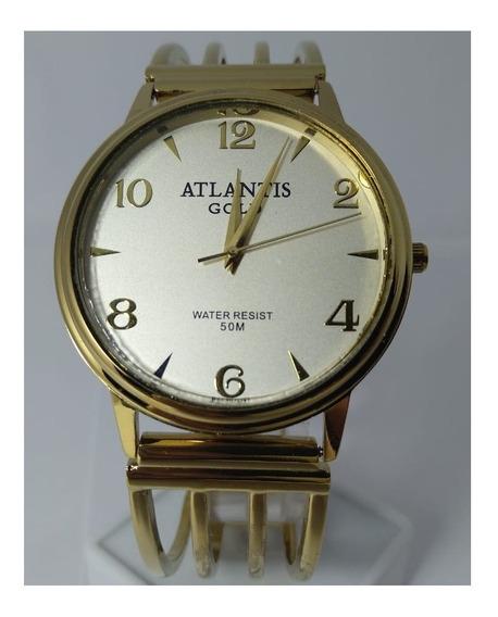 Relógio Atlantis Dourado B653g